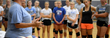 Gallery: Fall Volleyball Tryouts