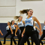 Varsity Lancer Dancers perform their team Dance routine at their annual Pancake Breakfast to help raise money for their trip to Nationals. Photo by Katherine Odell
