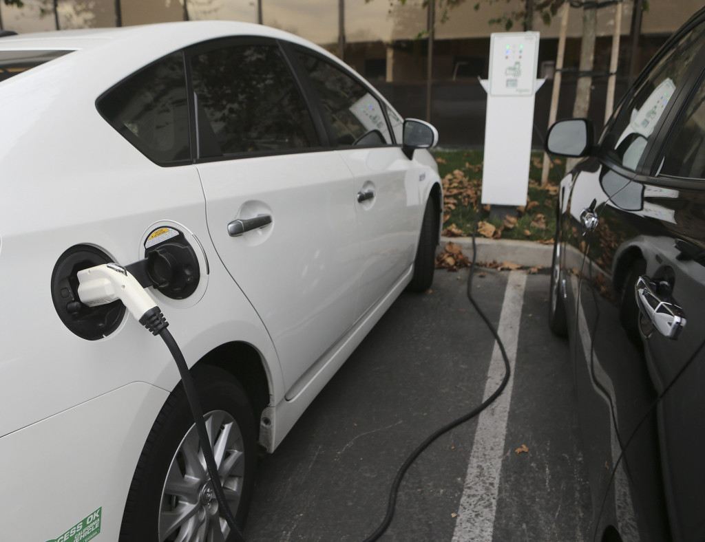 Electric vehicles and plug-in hybrids classified as 1 to 3 years old are some of the hottest sellers and best deals, according to a new study by used car aggregator, iSeeCars.com. (Jim Gensheimer/Bay Area News Group/TNS)