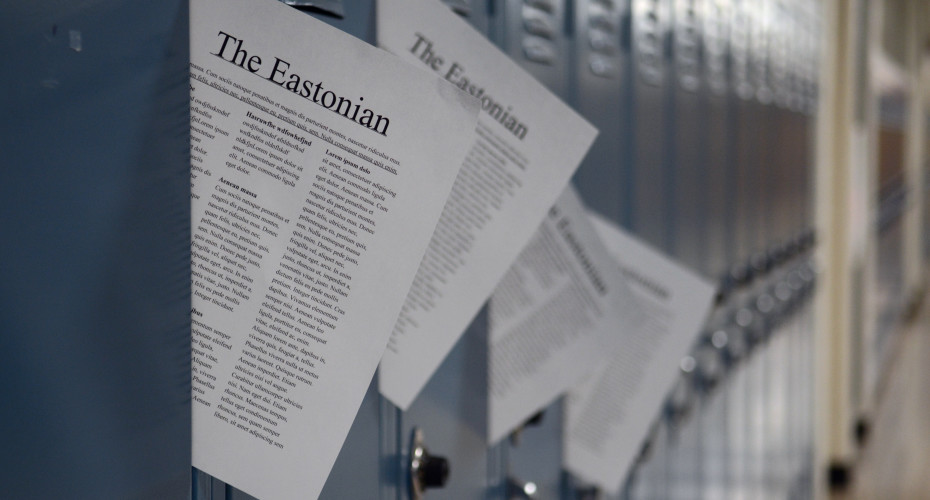A Letter to the Future Eastonian Editor: