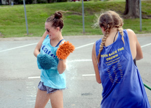 Gallery: Girls' Swim and Dive Carwash