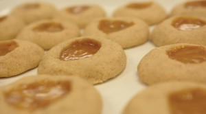 Fall Recipe: Cinnamon Caramel Thumbprint Cookies