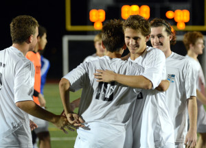 Gallery and Recap: Boy's Varsity Soccer vs. Olathe NW