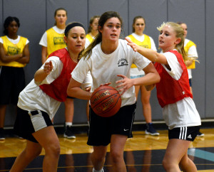 Gallery: Girl's Basketball Tryouts
