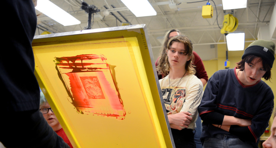 Gallery: Art Club Printmaking