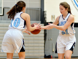 Gallery: Sophomore Girls Basketball vs. SMS
