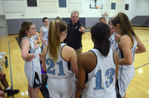Gallery: Girls Sophomore Basketball vs OE