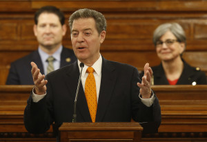 """Brownback Gives Annual """"State of the State"""" Speech"""