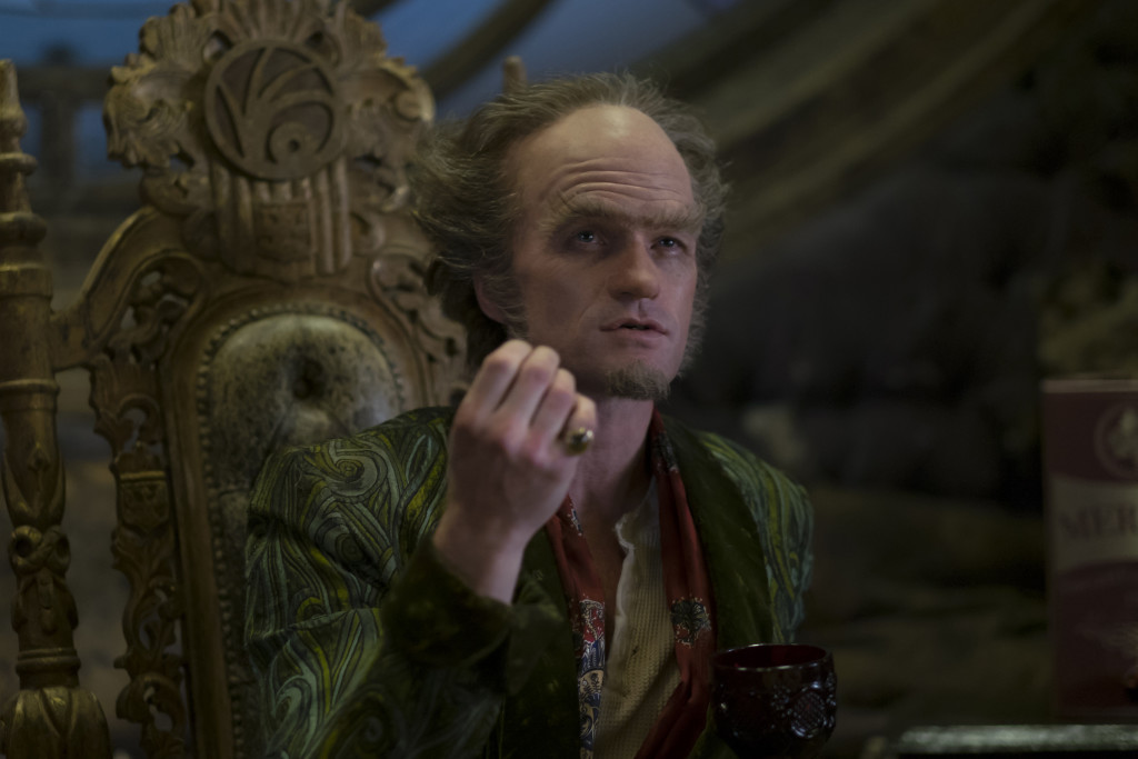 "Neil Patrick Harris as Count Olaf in ""A Series Of Unfortunate Events."" (Joe Lederer/Netflix)"