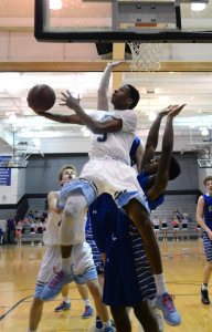 Gallery: Varsity Boys Basketball vs. Leavenworth