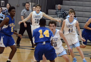 Gallery: Boy's JV Basketball game vs. Center